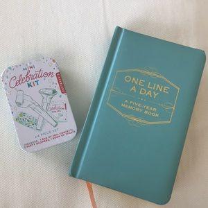 Other - Mini Celebration Kit + One Line a Day Journal